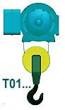 Тельфер исполнение Т01