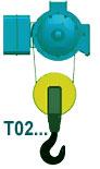 Тельфер исполнение Т02