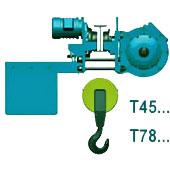 Тельфер исполнение Т45 Т78